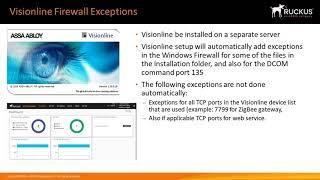 Visionline and Lock Service 3G SW installation Demonstration