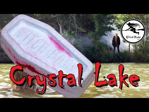 WITCH BABY Soap Crystal Lake 🔪 Bath Bomb DEMO & Review Underwater View