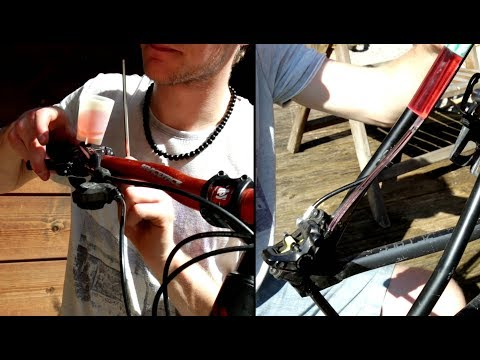 MTB Shimano XT Bremse entlüften (bleeden)
