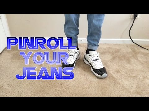 Tutorial: How to pinroll || Cuff Your Denim Jeans