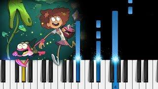 Amphibia Theme Song   EASY Piano Tutorial