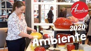 Ambiente Messe 2020 Frankfurt   Neuheiten und Trends für Küche, Haushalt, Wohnen