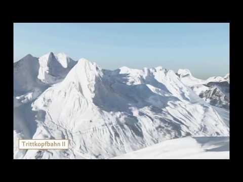 Animation der neuen Seilbahnverbindung Stuben - Zürs