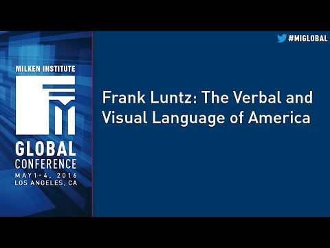 Sample video for Frank Luntz
