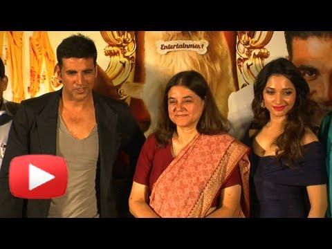 BJP's Maneka Gandhi Unveils Akshay Kumar's Its Entertainment Trailer!
