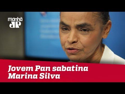 Eleições 2018 - Jovem Pan sabatina Marina Silva