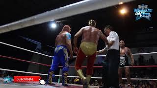 El Mesías y Solar vs el Negro Navarro y el Satánico en la Arena López Mateos