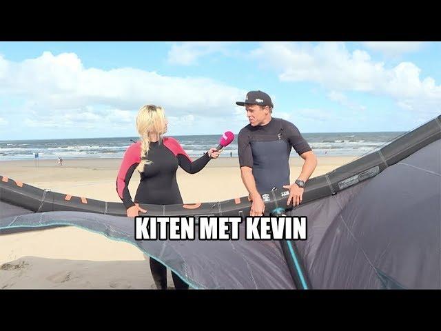 Kiten met Kevin