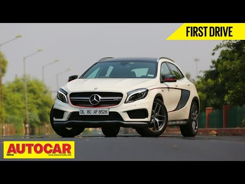 Mercedes-Benz GLA 45 AMG | First Drive Video Review - Mercedes Video