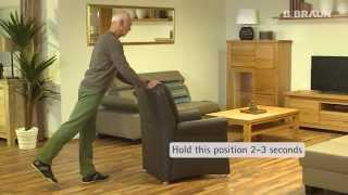 Exercise for the knee flexor and hip extensors