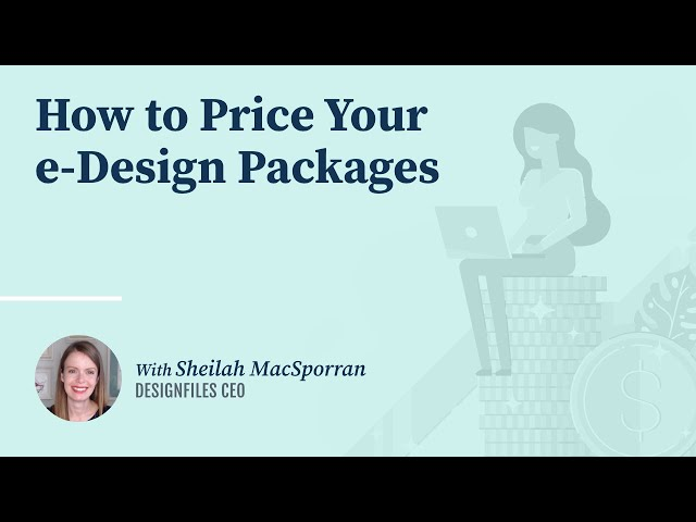 How to Price Your e-Design Packages