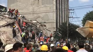 Mexico earthquake may be aftershock from bigger quake