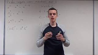 Algebra - Rekenregels Voor Machten Deel I (HAVO Wiskunde A & VWO Wiskunde A/C)