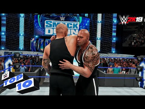 WWE 2K19 - Top 10 Friday Night SmackDown moments | Oct. 4, 2019