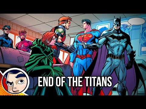 """Titans """"End of the Titans"""" – Rebirth Complete Story"""