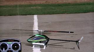 Rc-Heli flight lesson 5...  basic inverted hovers and orientations (freddys flight academy)