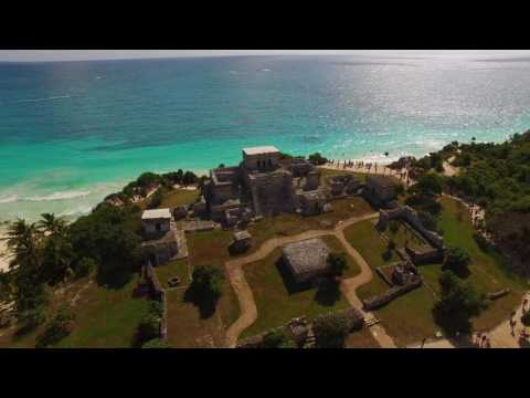 Our Beautiful World – Mayan Ruins, Tulum, Mexico – Drone | Aerial View