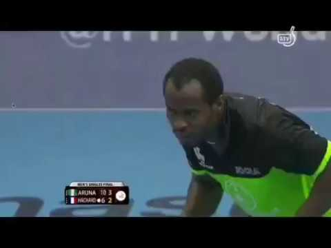 Aruna Quadri Clinches ITTF Nigeria Final Victory