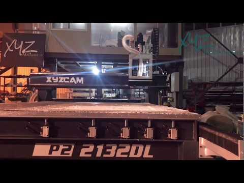 XYZCAM,P2-2132DL CNC Router, ATC
