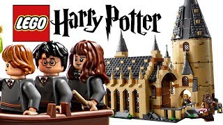 I am in LOVE. - LEGO Harry Potter 2018 Hogwarts Great Hall!