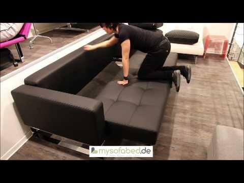 CASSIUS DELUXE Schlafsofa mit Bettkasten und Federkern 140x200 cm Bett von Innovation - mysofabed.de