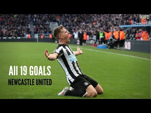 Ritchie's Goals for Newcastle