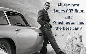 "We look at the best 007 James Bond cars in our ""car reviews round up of the week"""