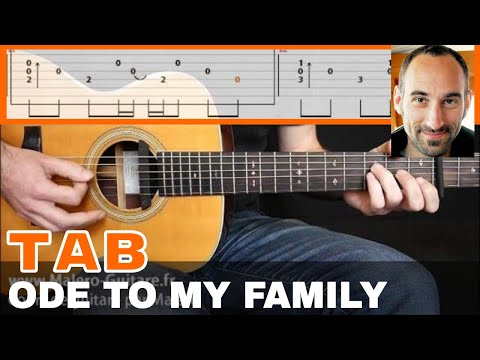 Ode To My Family Guitar Tab - YouTube