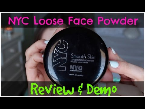 NYC Smooth Skin Loose Powder ($3) | Review & Demo