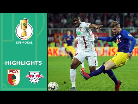 Werner scores in dramatic overtime win | FC Augsburg vs. RB Leipzig 1-2 a.et. | Highlights | DFB Cup
