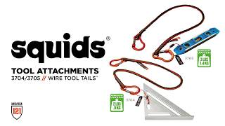 Squids 3705 Wire Tool Attachment – Screw Gate Tool Tail – 3lbs (6-Pack)