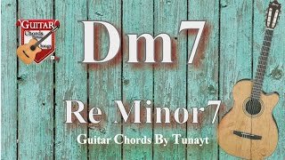 ★ Re7 Minor | How To Play Dm7 Chords On Guitar | Re Minor 7 Akoru Gitarda Nasıl Basılır ?