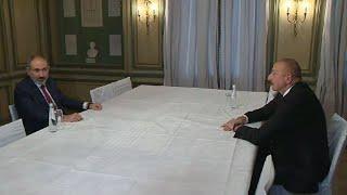 В Мюнхене началась встреча Пашиняна и Алиева
