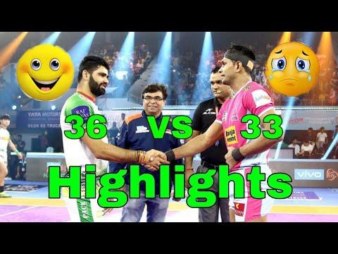 Highlights Patna pirates vs Jaipur pink Panther Pro Kabaddi 2019