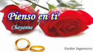 Pienso en tí Chayanne -(letra árabe  )