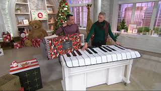 FAO Schwarz Piano Dance Mat with Built in Songs on QVC