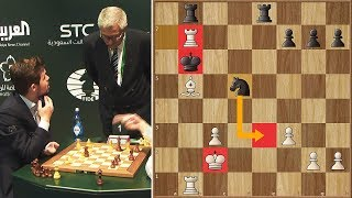 Unbelievable! Magnus Carlsen Loses Because His Opponent Made an Illegal Move