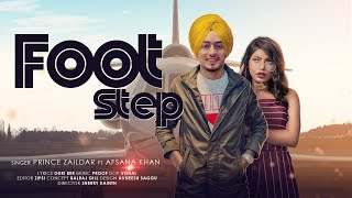 Foot Step | (Full HD) | Prince Zaildar Ft Afsana Khan | New Punjabi Songs 2020 | Jass Records