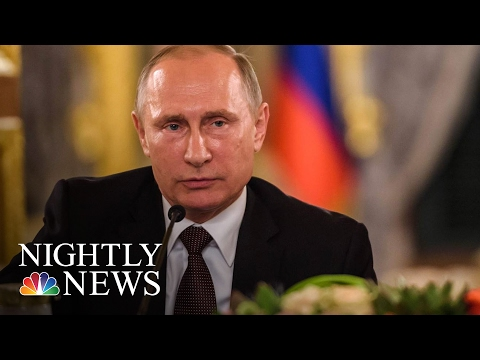 Kremlin Spokesman: 'No Doubt' Vladimir Putin Is Happy Donald Trump's Election | NBC Nightly News