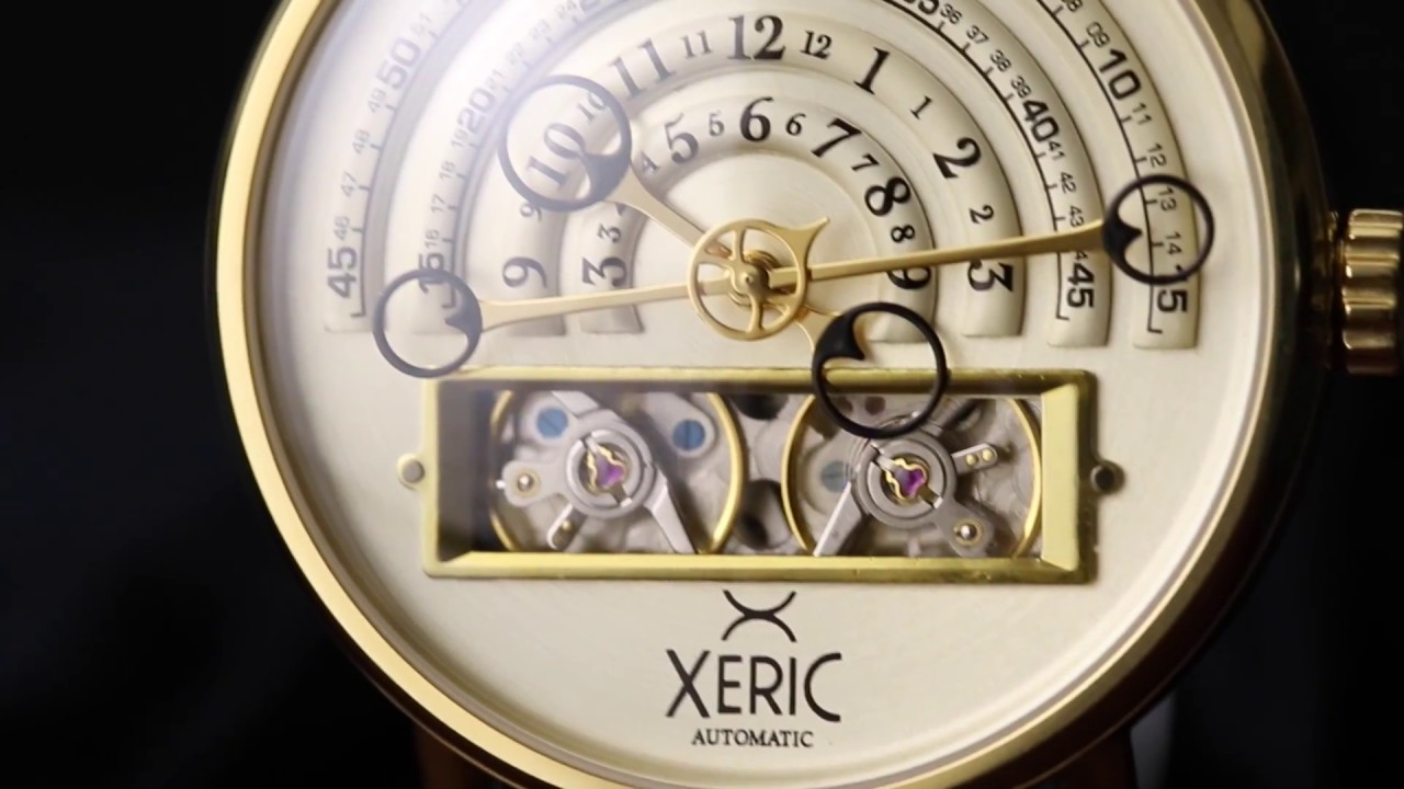 Xeric halograph magnificent mechanical watches touch of modern for Watches xeric