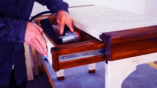 Woodworking Furniture Projects For Beginners - DIY Wood Furniture Projects