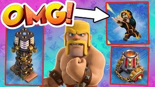 Clash Of Clans  NEW UPDATE IS INSANE  NEW LEVEL TROOPS DEFENSES AND MUCH MORE