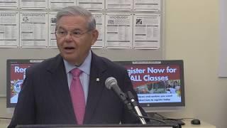 Menendez Launches Jersey Jobs Tour; Announces Jobs Training Legislation