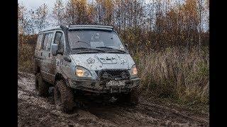 Перетягивание каната между ГАЗ Соболь 4x4 и УАЗ Патриот