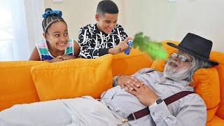 Kids GET REVENGE on EVIL BABYSITTER   FamousTubeFamily