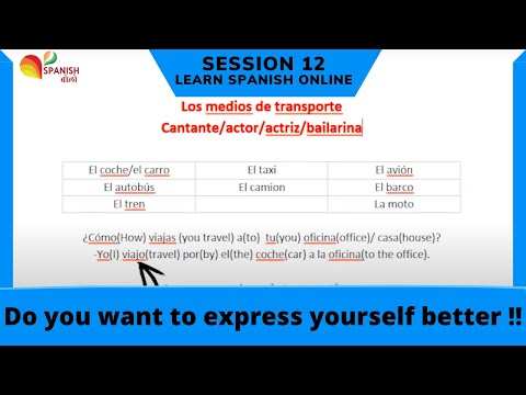 BASIC CONVERSATIONAL PHRASES IN SPANISH | Learn Spanish | Free Spanish Classes | Session 12