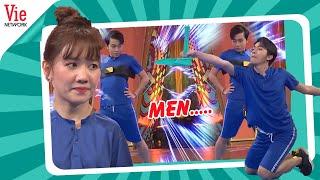Hari Won chán nản về độ MEN LỲ của Cris Phan | Kỳ Tài Thách Đấu