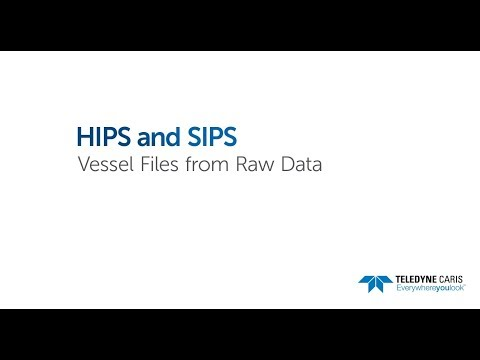 HIPS and SIPS - Vessel Files from Raw Data