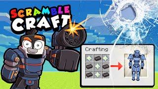 I Craft SUPER HUMAN ARMOR!? (Scramble Craft #12)