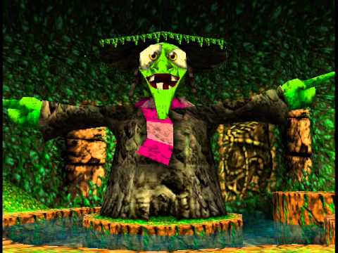 Gruntilda's Lair (8-BIT) - Banjo Kazooie - игровое видео